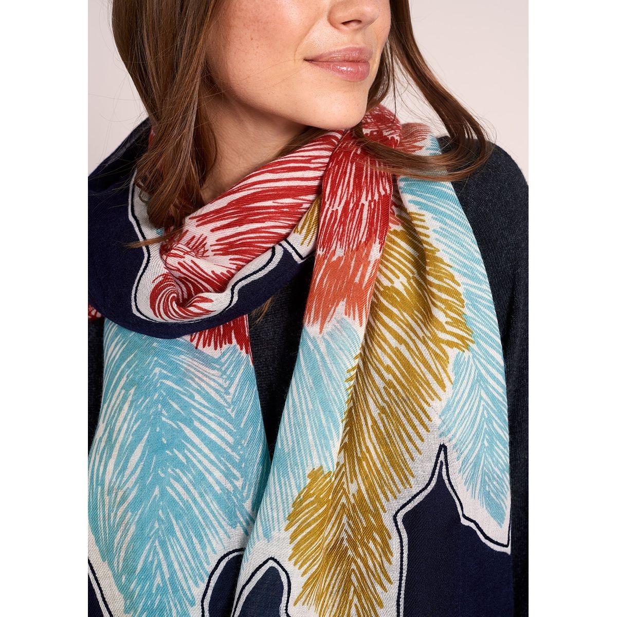 Foulard multicolore