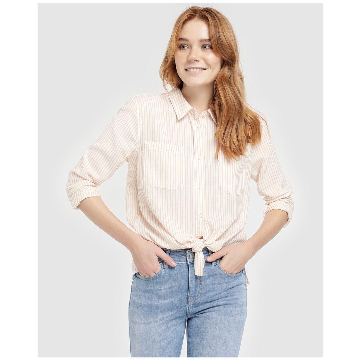 Chemise oversize à motif
