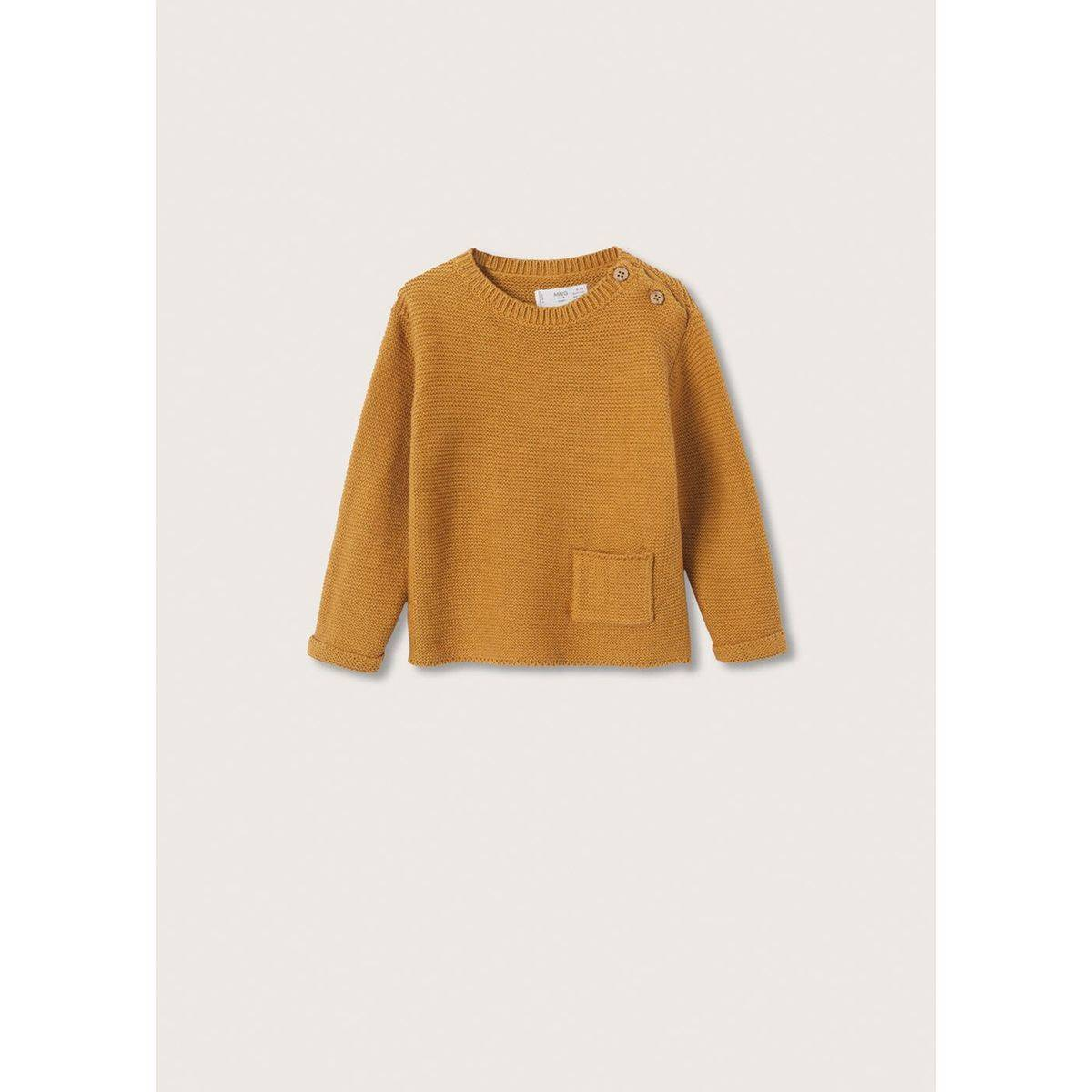 Pull-over maille poche