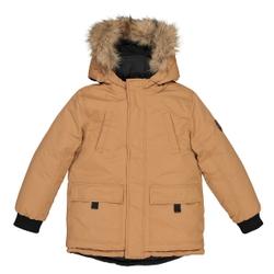 Parka con capucha reversible en chaqueta acolchada 3-12 años