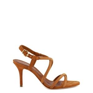 Leren sandalen met naaldhak Adalina COSMOPARIS