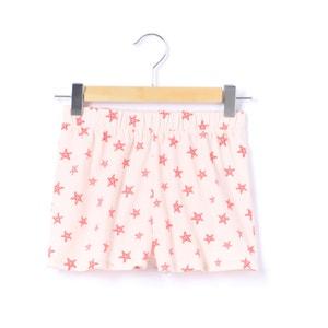 Jersey-Shorts mit Seesternmotiv, 3-12 Jahre abcd'R