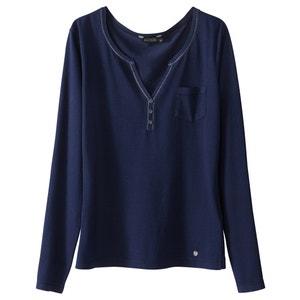 T-shirt met tuniekhals en lange mouwen KAPORAL 5