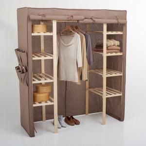 Armario para almacenamiento de tejido, 1/2 colgador, 1/2 estantes La Redoute Interieurs