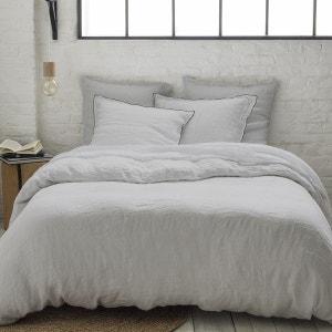 housse de couette gris clair la redoute. Black Bedroom Furniture Sets. Home Design Ideas