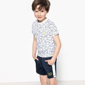 Комплект из футболки и шортов для занятий спортом, 3-12 лет La Redoute Collections