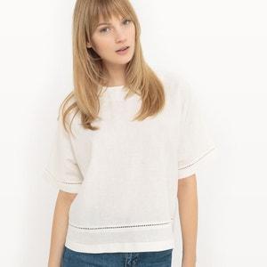 Lniana ażurowa bluzka R essentiel