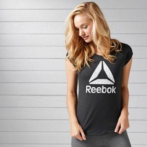 Short-Sleeved T-Shirt with Reebok Logo REEBOK