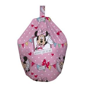 Pouf poire Minnie Mouse Disney en tissu MINNIE MOUSE