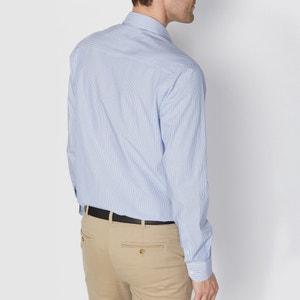 Gerades Hemd, gestreift, reine Baumwolle R essentiel