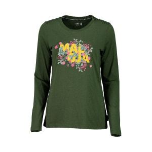 HuflattichM. - T-shirt manches longues Femme - olive/Multicolore MALOJA