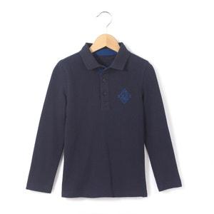 Polo avec motif dos 3-12 ans abcd'R