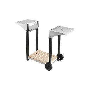 Chariots pour plancha Chariot barbecue et plancha ROLLER GRILL CHPS 600 pour plancha 60 cm ROLLER GRILL