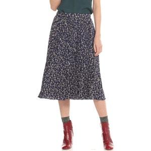 Floral Print Midi Skirt CHARLISE