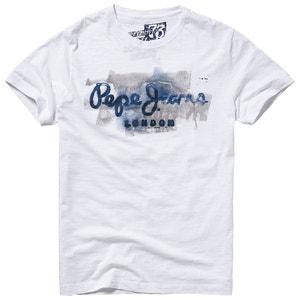 Tee-shirt Golders à motif imprimé PEPE JEANS
