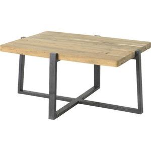 table basse en bois métal - FOREST HELLIN, DEPUIS 1862