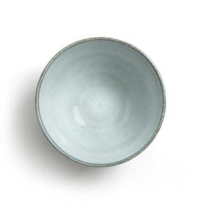 Teeschale, Steingut glasiert,