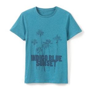 T-shirt com gola redonda R essentiel