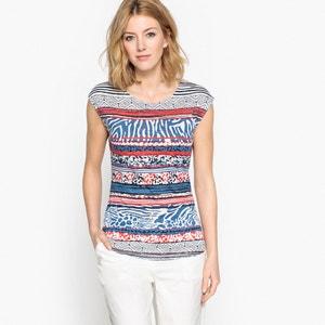 T-shirt fantasia, maniche corte ANNE WEYBURN
