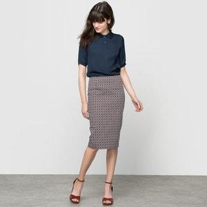 Printed Pencil Skirt atelier R