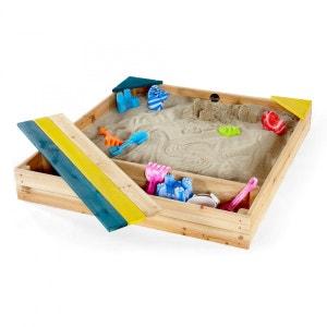 Bac à sable en bois Store-It PLUM