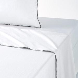 Drap, percale coton lavée, bourdon, Adrio La Redoute Interieurs