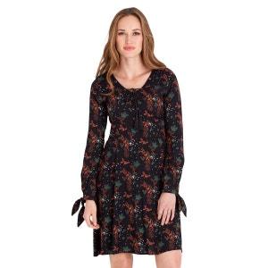 Robe à manches longues style bohème avec imprimés floraux pour femme JOE BROWNS