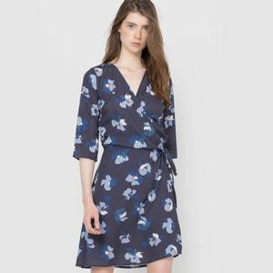 Sukienka kopertowa we wzory MADEMOISELLE R