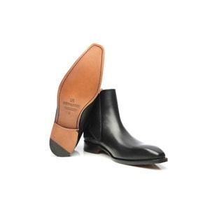 Chelsea boots en noir SHOEPASSION