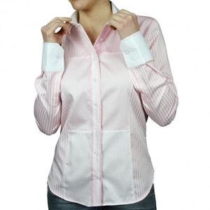 chemise col blanc patchwork ANDREW MC ALLISTER
