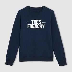 Camiseta sudadera con mensaje -  Fabricada en Francia R essentiel