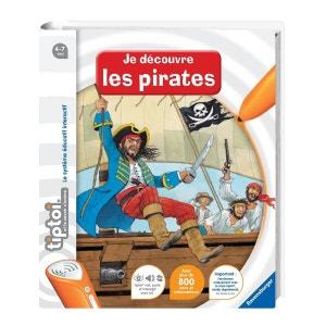 Livre électronique Tiptoi : Je découvre les pirates RAVENSBURGER
