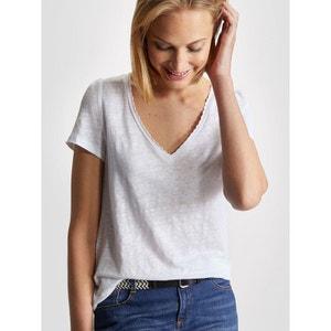 T-shirt femme en lin CYRILLUS