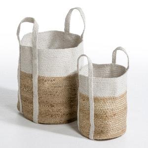 Tabea Two-Tone Jute Basket AM.PM.