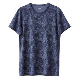 T-shirt com gola redonda estampada 100% algodão La Redoute Collections