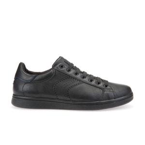 Zapatillas deportivas de piel WARRENS B GEOX
