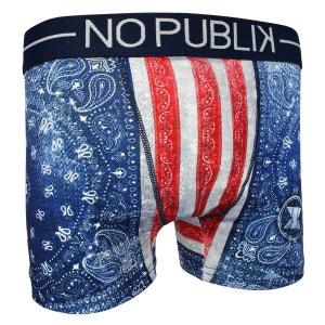 Boxer Microfibre Enfant Usa Bandana Flag NO PUBLIK