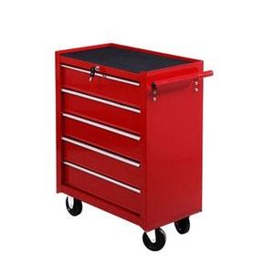 Servante/caisse à outils d'atelier tiroir Tools c'est chariot 675x330x770 mm - HOMCOM HOMCOM
