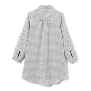 Robe chemise coton pois 3-12 ans abcd'R
