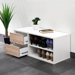 Rangement chaussures 2 niches, 2 tiroirs, Reynal La Redoute Interieurs