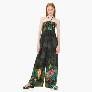 Combinaison pantalon large, bustier DESIGUAL