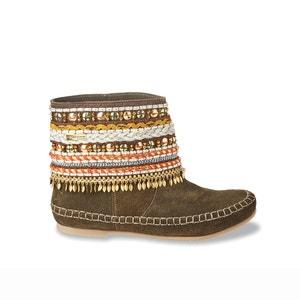 Leren boots Kan LES TROPEZIENNES PAR M.BELARBI