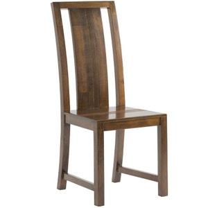 Chaise coloniale bois hévéa massif GALA PIER IMPORT