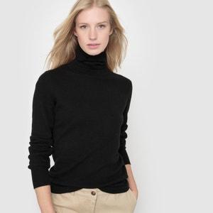 Jersey de cuello vuelto 100% lana merina R essentiel