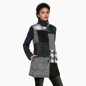 Manteau col montant mi-long DESIGUAL