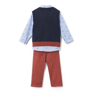 Conjunto de 3 prendas, 1 mes - 3 años La Redoute Collections
