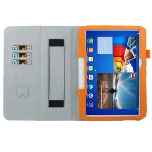 Housse Samsung Galaxy Tab 3 P5200 étui 10.1 pouces support Orange Yonis