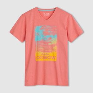 Short-Sleeved V-Neck T-Shirt OXBOW