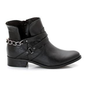Boots cuir CASTALUNA