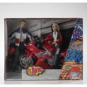 Happy D Et Liam + Moto - Mattel MATTEL
